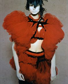 Comme des Garçons, from High Fashion, August 2008