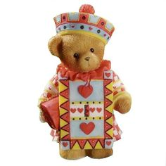 """Cherished Teddies -  """"A Day In Wonderland"""" Series, Teddy Callam as the Knave of Hearts"""