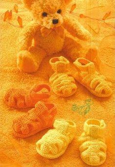 Felix Sandals free crochet graph pattern
