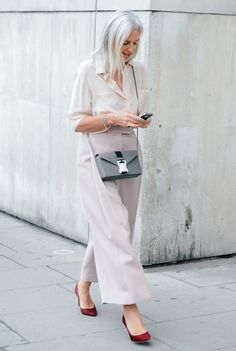 Ruth Chapman at Paris Fashion Week
