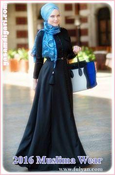 Tesettür Abiye Modelleri panosuna kaydettiniz Muslima Wear koleksiyonlarında tesettürlü elbiseler, tesettürlü abiyeler, tesettürlü özel kıyafetler var. #TesettürGiyim #Tesettür #Hijab #MuslimaWearHijab