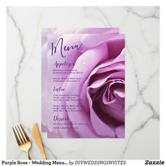 Customizable Flat Menu made by Zazzle Invitations. Personalize it with photos & text or shop existing designs! Wedding Reception Tables, Wedding Catering, Catering Menu, Menu Template, Invitation Templates, Printable Menu, Wedding Couples, Lesbian Wedding, Wedding Menu Cards