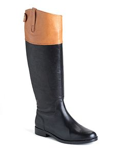 Ralph Lauren Jenessa Leather Riding Boots ($219)