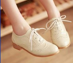 Cute lace ups Oxford shoes ❤️