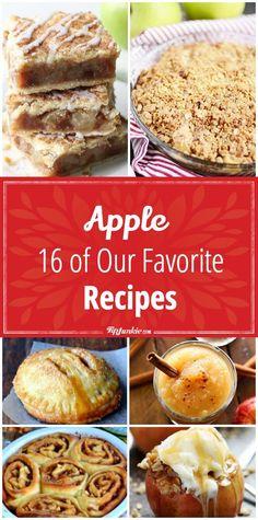 Apple 16 of Our Favorite Recipes via @TipJunkie