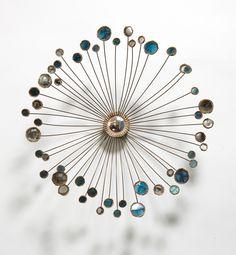 Line Vautrin; 'Ombelles' Wall Mirror, 1964.