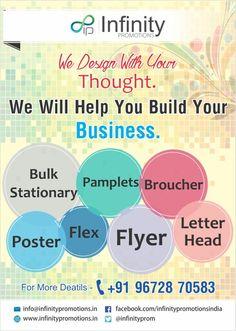 Infinity promotions  Printing bhilwara Bulk sms bhilwara  Website bhilwara