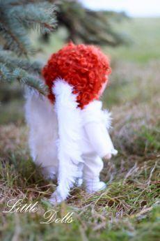 O anjo do menino Tecido boneca boneca boneca Tilda branco por AnnKirillartPlace