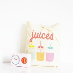 Image of Tote bag Juices