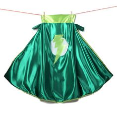 Lightning Cape Adult Green, $45, now featured on Fab.