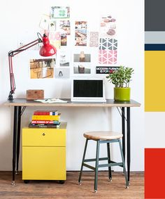 Work space I can heart. heartwork modern office furniture giveaway / sfgirlbybay