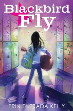 <2015 Pin> Blackbird Fly by Erin Entrada Kelly. SUMMARY: Bullied at school, eighth-grader Apple, a Filipino American who loves the music of the Beatles, decides to change her life by learning how to play the guitar.