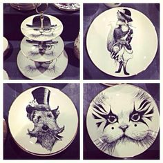 Rory Dobner ceramics - I'd like the 3-tiered cake plate!