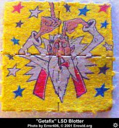 Blotter Art :: LSD Blotter Index from 1990's :: lsd_blotter_getafix
