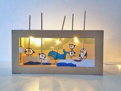 DIY Cardboard Shoebox Theater, kids craft ideas from the brilliant Handmade Charlotte