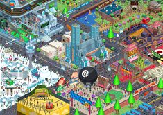 Awesome pixel-art poster we had commissioned for work, by Army of Trolls. There's a pixel version of me in there somewhere!