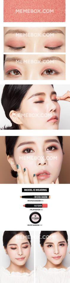 i'm eyeshadow memebox daily life