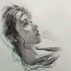 Charcoal Drawing Realistic Charcoal Portraits by Lee - We talk about Art, Design and Architecture, feature talented artists from around the world.Come for the Art and checkout our Apps. Pencil Portrait Drawing, Portrait Sketches, Portrait Illustration, Portrait Art, Drawing Sketches, Pencil Drawings, Painting & Drawing, Art Drawings, Pencil Art