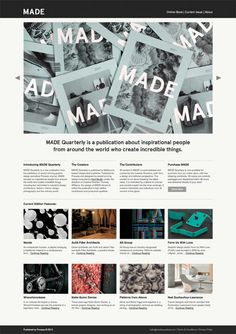 #Stylish magazine #webdesign