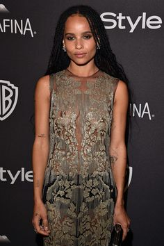 fy-zoeisabella: Actress Zoë Kravitz attends The 2016 InStyle And Warner Bros. 73rd Annual Golden Globe Awards Post-Party at The Beverly Hilton Hotel on January 10, 2016 in Beverly Hills, California.