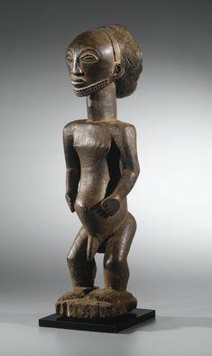 Statue d'ancêtre, Style de Yambula, Hemba, République Démocratique du Congo | lot | Sotheby's