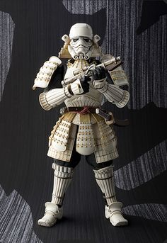 Bandai's Samurai Stormtrooper Looks Absolutely Amazing  Placing it on the wish list for my next birthday.