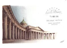 The Kazan Cathedral, St Petersburg, 2016/07/26