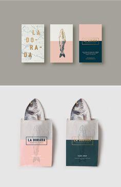 La Dorada Branding by Bunker 3002 Design Studio and La Conceptualist via Behance   Graphic Design   Logo   Fish Illustration