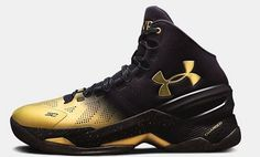 stephen curry golden shoes