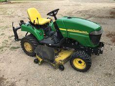 John Deere 2305, Utility Tractor, Compact Tractors, John Deere Tractors, Lawn And Garden, Lawn Mower, Gardening, Lawn Edger, Grass Cutter
