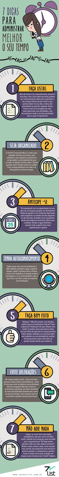 melhores dicas para administração do tempo do estudo e para tudo Self Development, Personal Development, Success, Student Life, Study Tips, Time Management, Better Life, Good To Know, Just In Case