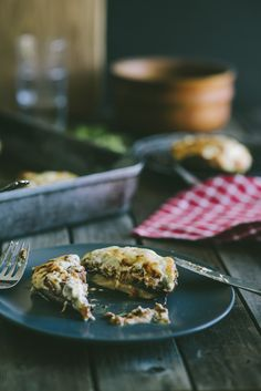 Beef Ragu stuffed mushrooms...super comforting!