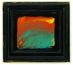 Colour can be so powerful and we love the way Howard Hodgkin uses it in his paintings, creating a language all of their own. Despite their apparent spontan