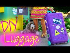 DIY American Girl Doll Luggage - YouTube