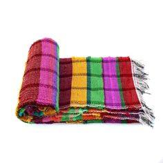 Handloomed Rag Rug Yoga Mat Handmade Saree Chindi Carpet Rectangular Durrie Y805 #JodhpurRugs #RagRug