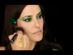 Lisa Eldridge - Dramatic Green Eye Tutorial. For more tips and a list of products visit my website http://www.lisaeldridge.com/video/12190/dramatic-green-eye/ #MakeUp #Beauty #Tutorial