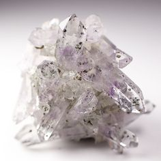 Brandberg Amethyst Quartz Crystal Cluster with Epidote, Goboboseb Namibia | Collectibles, Rocks, Fossils & Minerals, Crystals & Mineral Specimens | eBay!