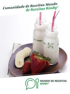 Iogurte líquido de Banana e Morango de Equipa Bimby. Receita Bimby® na categoria Crianças do www.mundodereceitasbimby.com.pt, A Comunidade de Receitas Bimby®.