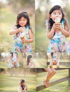 by Maricruz Photography based in Houston, Texas Ice Cream Pictures, Ice Cream Photos, Girl Photography, Children Photography, Lifestyle Photography, Photography Ideas, Ice Cream Theme, Kids Z, Mini Sessions