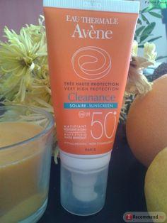 Солнцезащитное средство для лица Avene Cleanance SPF 50 флюид для кожи склонной к акне фото