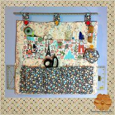 Mon Polaris: Organizador de costura {Rincón de costura}