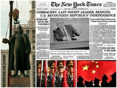 Mansour — The Premature 'End of History': the Fall of Soviet Union in 1991 and the Rise of China in 2017 Fall Shorts, Foreign Policy, Soviet Union, Flag, China, History, December, Historia, Science