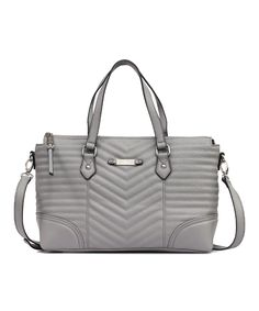 Another great find on #zulily! Light Gray Brenda Satchel by Jessica Simpson Collection #zulilyfinds