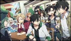 Image about anime in Mekakucity Actors/Kagerou Project by Sophie Anime Oc, Manga Anime, 1920x1200 Wallpaper, Desktop Wallpapers, Anime Group, K Project, Kagerou Project, Naruto Cute, Actors