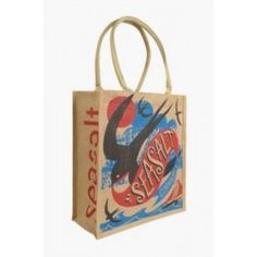 Seasalt Swift Design Jute Shopping Bag, In stock and available for fast dispatch from our shops in Scarborough & Whitby.