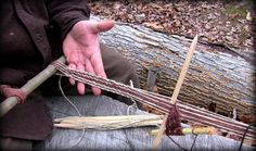 Weaving with a String Heddle