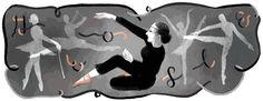芭蕾舞者布里吉特·卡爾伯格誕辰106週年