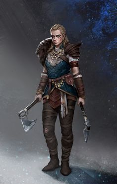 A place to share and appreciate fantasy and sci-fi art featuring reasonably portrayed women. Character Design Challenge, Fantasy Character Design, Character Inspiration, Character Art, Dnd Characters, Fantasy Characters, Female Characters, Viking Warrior Woman, Warrior Girl