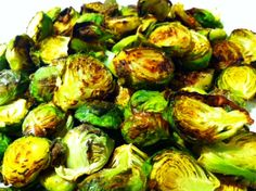 THM (E or FP depending on serving size) Roasted Crispy Garlic Brussels Sprouts:   http://www.thelittlemomwhocould.com/2013/12/18/roasted-crispy-garlic-brussels-sprouts/