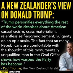 """A recent """"New Zealand Herald"""" OpEd by Paul Thoma..."""